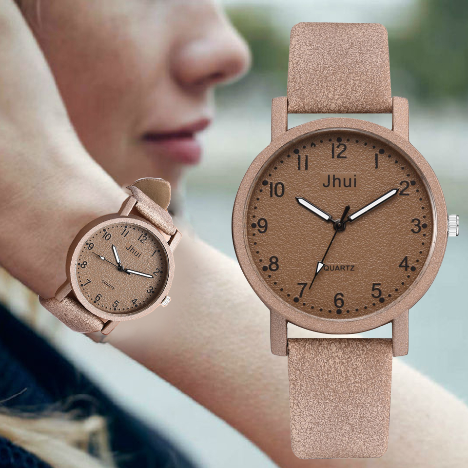 Top Brand Women's Watches Fashion Leather Wrist Watch Women Watches Ladies Watch Clock Mujer Bayan Kol Saati Montre Feminino