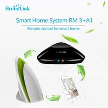 2017 broadlink rm3 rm pro смарт контроллер + a1 e-качество воздуха детектор ик/рф/wi-fi умный пульт дистанционного управления с помощью ios android