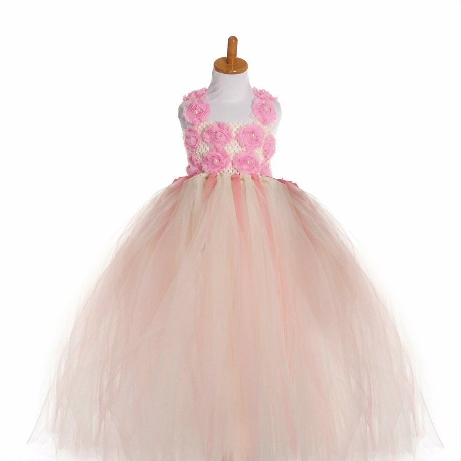 Fashion ball gowns for children  new 2017 tutu tulle gown designs long girls party wedding dress kids 4pcs new for ball uff bes m18mg noc80b s04g