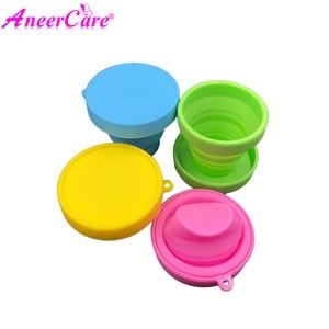 Image 2 - 25pcs esterilizador copa menstrual aneercare menstrual cup sterilizer folding cup copa menstrual de silicona medica