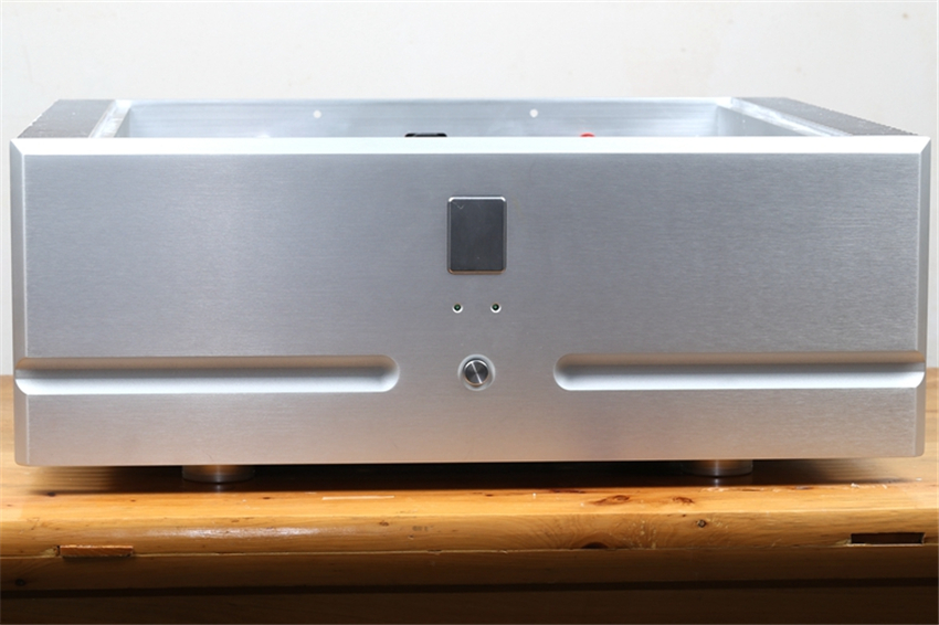QUEENWAY HiFi Audio T9-II Pure Power Amplifier Hi-end Amp Burmester 909 X-Amp Amplification Circuit DC Coupling 180W * 2 8ohms name machine b 108 circuit no big loop negative feedback pure post amplifier hifi fever grade high power 12 tubes