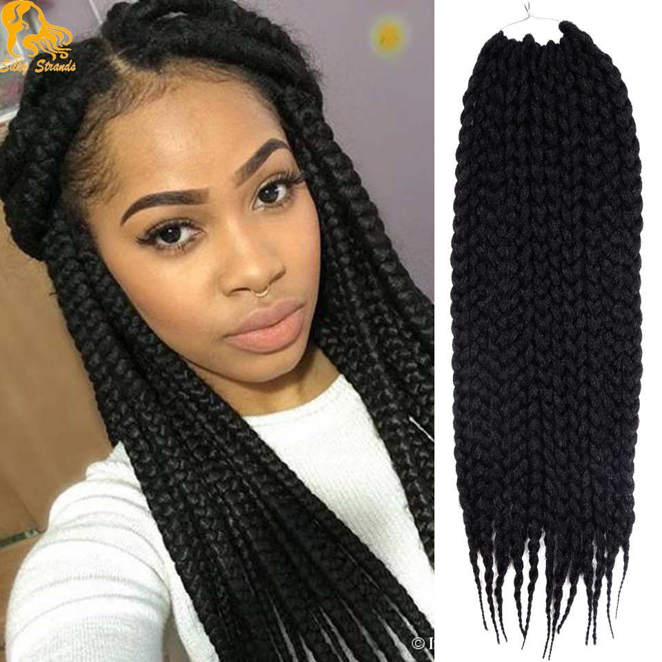aliexpress : buy jumbo box braids crochet braids hair