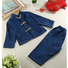 Dragon Embroidery Traditional Chinese Costume for Boys