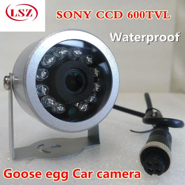 Night vision high-definition car camera  infrared waterproof camera  aviation head interface  factory direct sales axiom car vision 1100