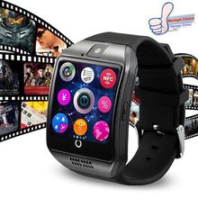 Passometer Smart watch Q18H with Touch Screen camera TF card Bluetooth smartwatch for Xiaomi Android IOS Phone PK A1 DZ09 MP3