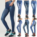 Women Lady Skinny Sexy Jeggings Slim Warm Winter Leggings Jeans Fashion Style