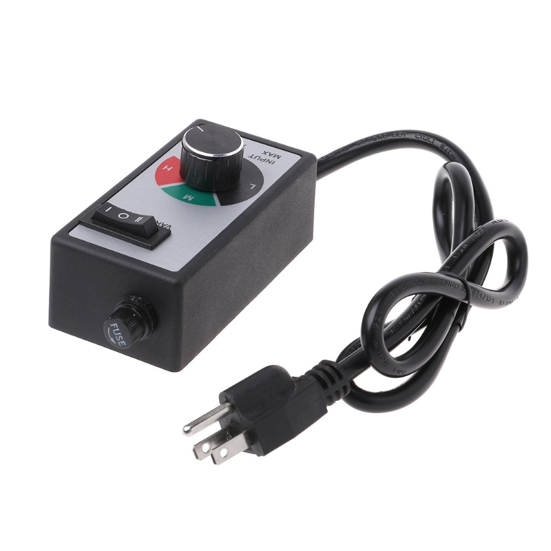 120V 15A Variable Voltage Router Speed Controller For Fan Lamp Electric
