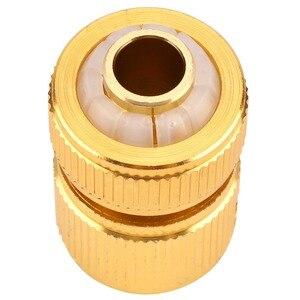 Image 5 - ドリップ灌漑合金水ホースコネクタフィッティングスイッチノズルガーデンパイプクイックフィットアダプタタップホースコネクタ