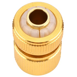 Image 5 - Drip Irrigation For Alloy Water Hose Connector Fitting Switch Nozzle Garden Pipe Quick Fit Adapter Tap Hose Connector