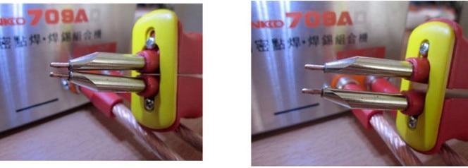 10pairs/Lot Pin for welding pen of spot welder s787a, s788h, s709a, Solder pin,