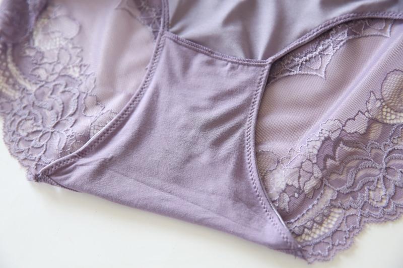 Cotton Women Briefs Plus Size Panty 3XL 4XL 5XL 6XL High Waist Underwear Lingerie Sexy Lace Floral Brief Comfortable Panty 9