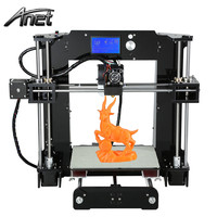 Anet A6 3D Desktop Printer Kit LCD Control Screen Display Large printing size Precision Makerbot Structure As Gift High Quality