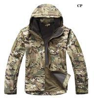 2016 hombres chaqueta de alta calidad lurker Shark piel Soft Conchas TAD v 4.0 Militar chaqueta impermeable abrigo
