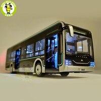 1/42 YuTong U12 городской автобус литой автобус автомобиль модель мальчиков девочек подарки игрушки Дети