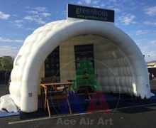 giant white inflatable Igloo Booth /Infltable shelter for Sports event
