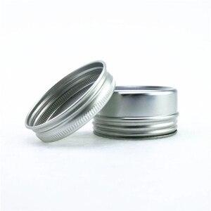 Image 3 - 30g aluminum jars 1oz silver aluminum cream jars 30ml aluminum tin container 30ml aluminum tin can