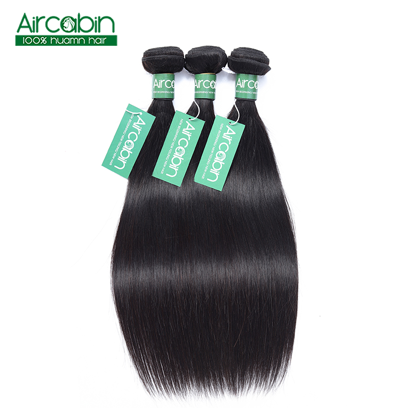 Straight Hair Bundles 100 Human Hair Bundles Natural Color Non Remy Hair Weave 3 Pcs Natural