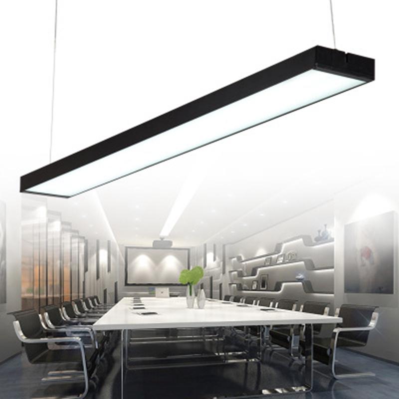 Rectangular Pendant Lights LED Kitchen Lights LED lamp Long Hanging Lamp Ceiling Lamps Lighting Fixtures Bedroom Living Room