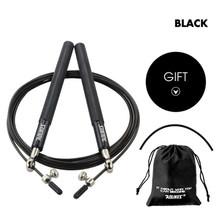 Crossfit Speed Jump Rope Professional Skipping Rope For MMA Boxing Fitness Skip Workout Training With Carrying Bag Spare Cable цена в Москве и Питере