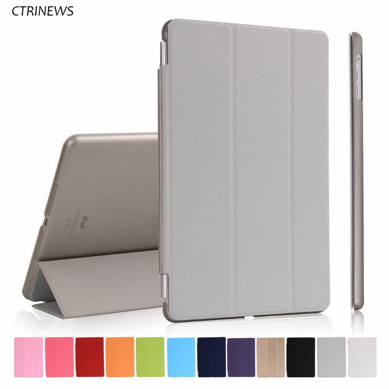 CTRINEWS Smart Case For iPad Pro 10.5 inch Flip PU Leather Cover For iPad Pro 10.5 Tablet PC Protective Case Auto Wake up Sleep ctrinews flip case for ipad air 2 smart stand pu leather case for ipad air 2 tablet protective case wake up sleep cover coque