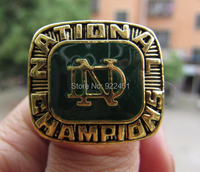 Free Shipping High Quality 1977 Notre Dame Championship Ring Best Gift For Men Accept Custom Design