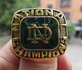 Free shipping high quality 1977 Notre Dame Championship Ring, best gift for men, accept custom design factory wholesale