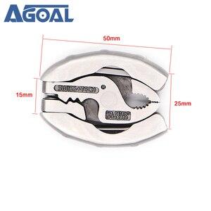 Image 2 - 슈퍼 미니 다기능 도구 9 1 Multitool 키 체인 플라이어 스크루 드라이버 포켓 도구