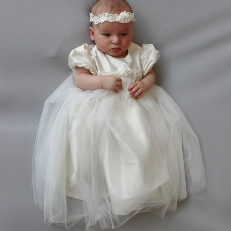 White Flower Girls Dresses For Wedding Gowns Straight  Baby Girl Clothes Suitable Mother Daughter Gresses for Girls Birthday white flower girls dresses for wedding gowns a line baby girl clothes suitable first communion dresses for girls