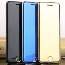 Original ULCOOL V6 Luxury Phone Super Mini Ultrathin Card phone with MP3 Bluetooth 1.67inch Dustproof Shockproof mobile cell