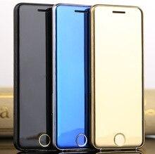 Оригинальный ulcool V6 Роскошный телефон супер мини ультратонких карты телефон с MP3 Bluetooth 1.67 дюйма пыле противоударный мобильный