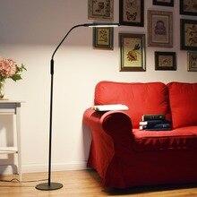 Nordique Eye-protection LED Lampadaire 8 W 5-niveau Luminosité Moderne Stand Lumière pour Salon Étude De Chevet Lecture Lampe De Piano