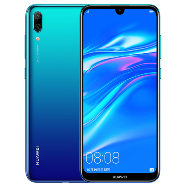 Huawei Enjoy 9 Y7 Pro 2019 Smartphone Global Rom Snapdragon 450 Octa Core Android 8.1 Face ID 4000mAh Bluetooth Dual Card Phone 2
