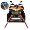 Universal Soft Loops Tie Down Straps £ 2300 Força da Ruptura Cordas De Reboque Da Motocicleta Evitar Arranhões Moto ATV Da Bicicleta Da Sujeira
