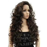 StrongBeauty Long Curly Wig Women's Synthetic Wigs Blonde/Black Red kanekalon Hair