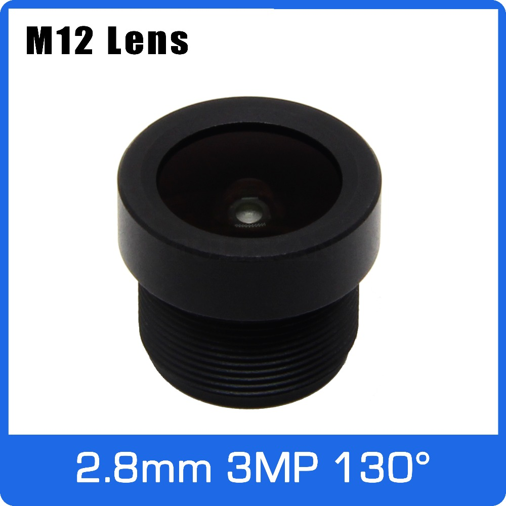 3Megapixel 2.8mm CCTV Short Length Lens 130 Degree Wide Angle For SONY IMX323 WIFI Camera/Car Driving Recorder/Video Doorbell