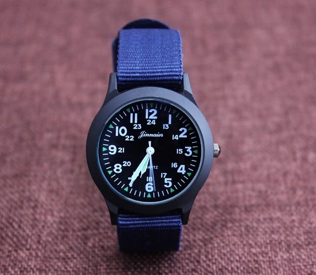 New Arrived Boy Fashion Sports Nylon Watch Promotion Kids Luminous Pointer Quartz Watch Girls Casual Watch