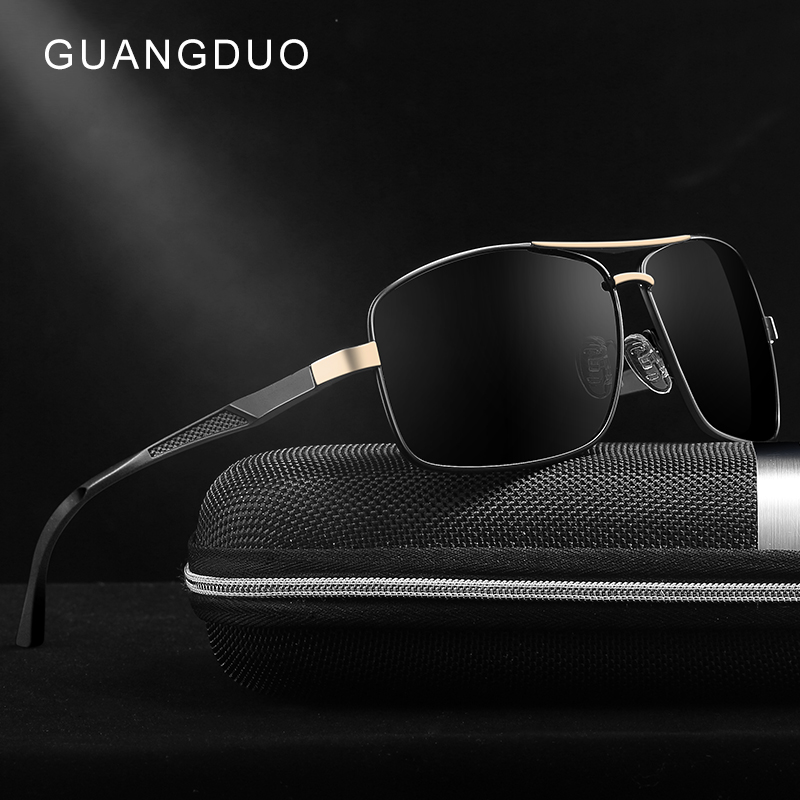 Hombres Gafas Moda Sol Guangdu Polarizadas Nuevos Marca De XuPOkZTi