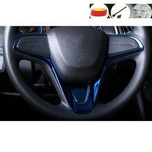 Lsrtw2017 Stainless Steel Asb Car Interior Steering Wheel Trims for Chevrolet Cavalier 2017 2018 2019 2020