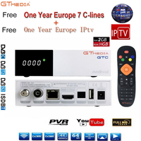 Freesat/GTmedia GTC Satellite Receiver android 6.0 DVB S2/T2/C ISDB T support 4K/3D/H.265/MPEG 4 movies Built in Wifi with IPTV