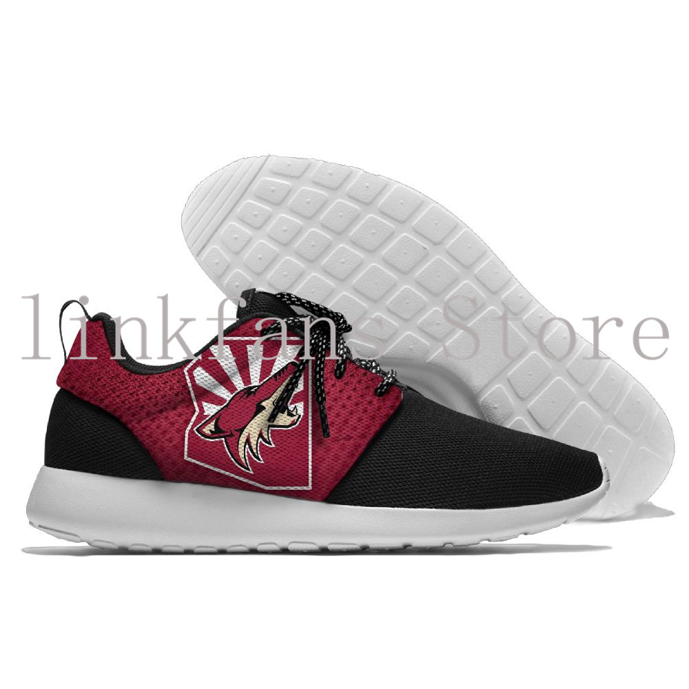 American Arizona Coyotes team Superlight Slip On Sneakers for Men Phoenix Coyotes Baseball shoes men and lady