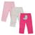 3 Unids/set Bebé Pantalones de Invierno y Otoño Pantalones de Algodón de Moda Infantil Newborn Baby Boy Pantalones Del Bebé Pantalones Leggings 0-24 M Del Bebé