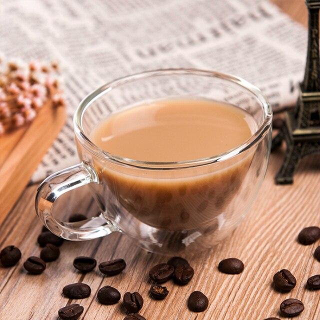 Bpa Mug Teacup Widemouthed Cup Deck 38Off Handgrip Bodum Double Us11 Coffee Tassimo High Borosilicate Free 11 Glass Tiki In Taza creative 150ml FKlJ3Tc1