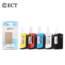 ECT Mico CBD Oil Vape Mod Kit with 350mAh Preheat VV Battery Box Mod 0.5ml Ceramic Coil G5 Thick Oil Cartridge Tank Vaporizer ect robin vape pod system kit 650mah vv preheat battery for e electronic cigarette e liquid jul cbd oil cartridge jc01 vapor kit