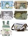 Anime Meu Vizinho Totoro Mensageiro Saco de Lona Bolsa de Ombro Sling Pack Meu Vizinho Totoro Cosplay