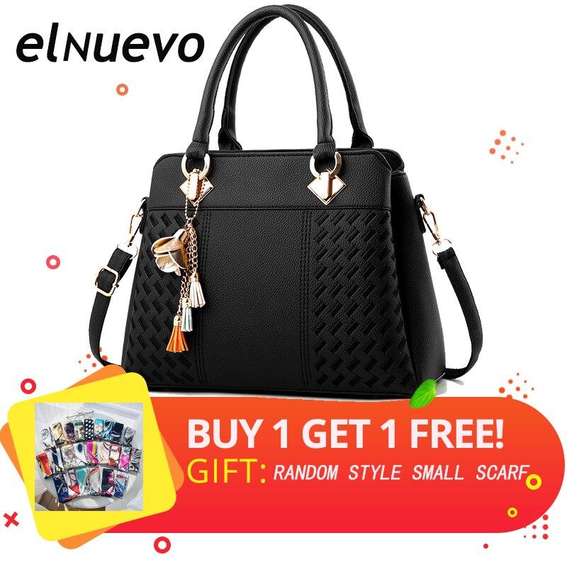 New PU Leather Women Bag Handbags Messenger Bags Crossbody Shoulder Ladies Tassel Hot