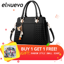 New PU Leather Women Bag Handbags Messenger Bags Crossbody Shoulder Ladies Tassel Hot