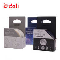 Deli Washi Tape Constellation Universe Moon Cute Style Scrapbooking Paper Decor Student Stationery Office Supplies 1pcs
