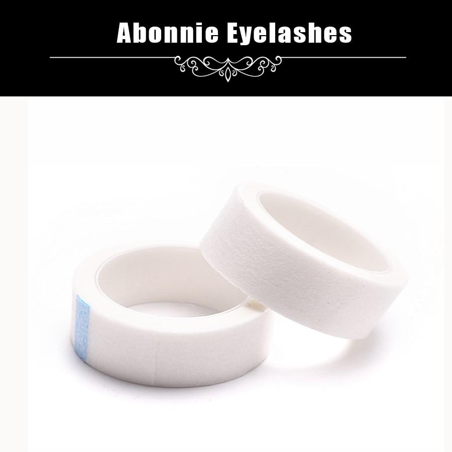 Abonnie Lashes Professional Eyelash Lash Extension Micropore Paper Medical Tape Under Eyelash Tape