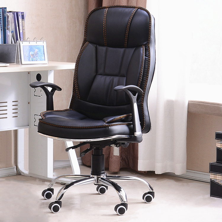durable pvc home office chair. simple modern high quality office chair lifting leisure lying boss home computer durable steel foot swivel chairin chairs from furniture pvc i