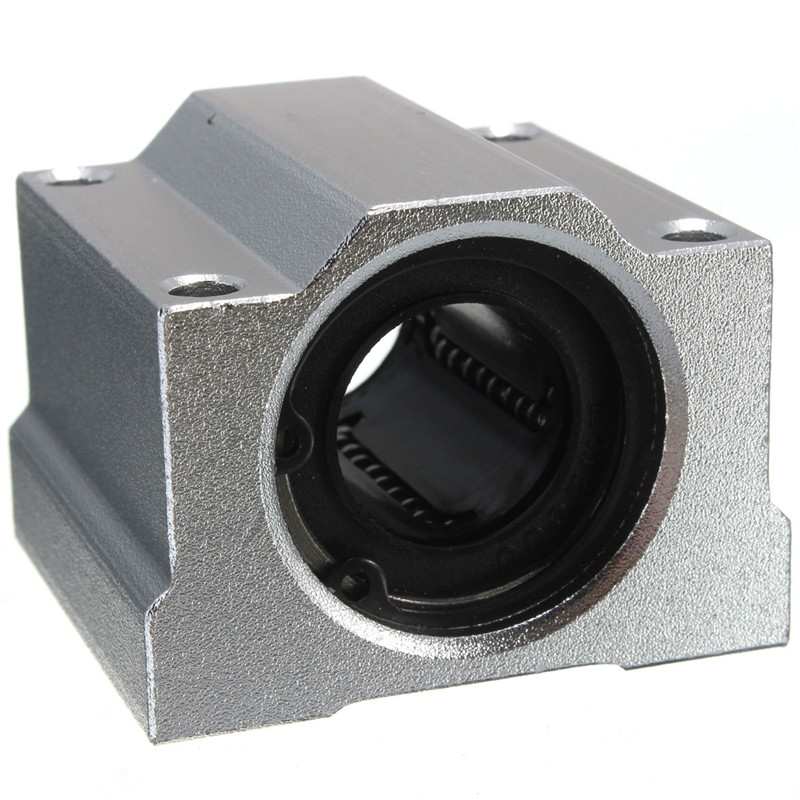MTGATHER 1 PCS SC20UU SCS20UU 20mm Aluminum alloy Linear Ball Bearing Linear Motion Bearing Slide For CNC Best Price